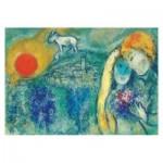 Puzzle  Impronte-Edizioni-245 Marc Chagall - Les Amoureux de Vence