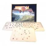 Jig-and-Puz-80018 Luxe Puzzle Table - 100 à 1500 Pièces + 3 Plateaux de Tri
