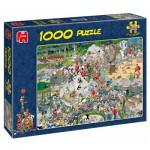 Puzzle  Jumbo-01491 Van Haasteren Jan : Le Zoo