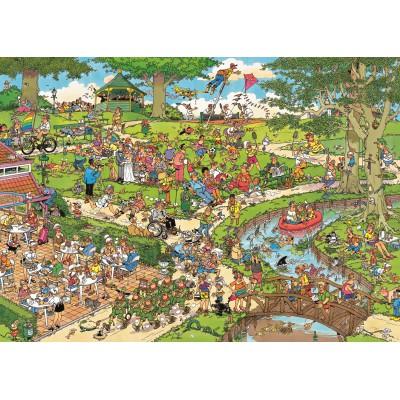 Puzzle Jumbo-01492 Jan van Haasterenn : Le Parc