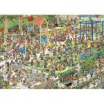 Puzzle  Jumbo-01599 Van Haasteren Jan : Le jardin public