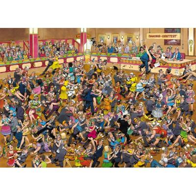 Puzzle Jumbo-01617 Jan van Haasteren : Danse de salon