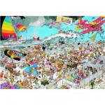 Puzzle  Jumbo-01652 Jan Van Haasteren : A la plage