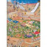 Puzzle  Jumbo-01666 Van Haasteren Jan : Jeux Olympiques