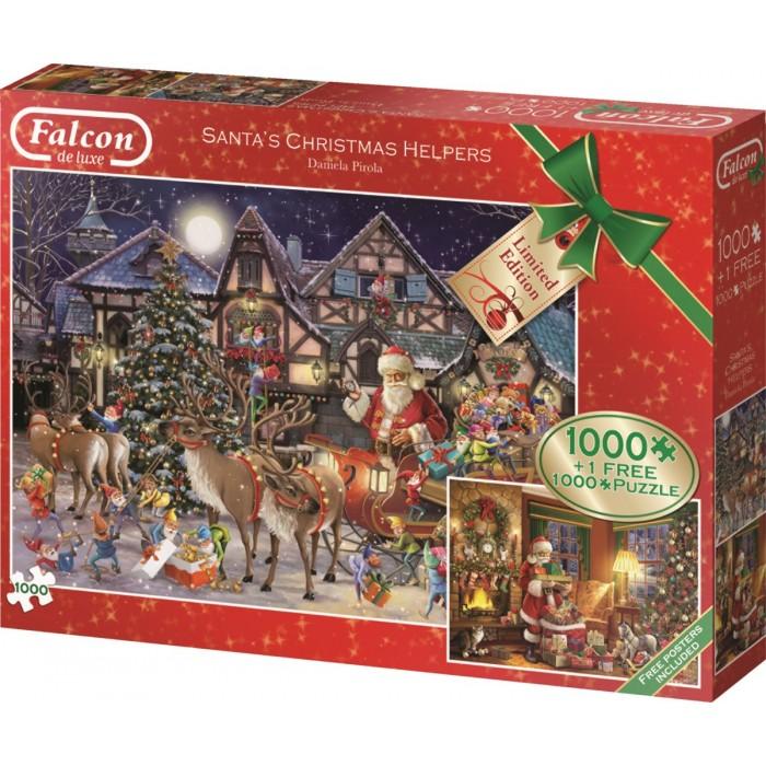 2 Puzzles - Santa's Xmas Helpers