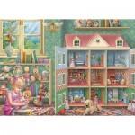 Puzzle  Jumbo-11276 Doll House Memories