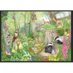 Puzzle  Jumbo-11322 Woodland Wildlife
