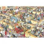 Puzzle  Jumbo-17014 Jan van Haasteren : Le bureau