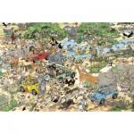 Puzzle  Jumbo-17016 Van Haasteren Jan : Safari