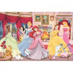 Puzzle  Jumbo-17065 Disney Princesses : Trouver l'erreur