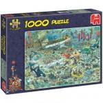 Puzzle  Jumbo-17079 Jan van Haasteren : Divertissements sous-marin