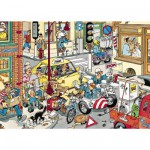 Puzzle  Jumbo-17161 Jan Van Haasteren : Faites place