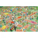 Puzzle  Jumbo-17216 Jan Van Haasteren : Crazy golf