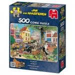 Puzzle  Jumbo-17277 Van Haasteren Jan : Attrapez-moi ce chat