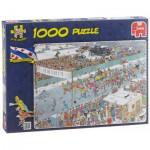 Puzzle  Jumbo-17310 Van Haasteren Jan : Course sur Glace