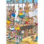 Puzzle  Jumbo-17455 Jan van Haasteren - Gymnastique