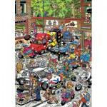 Puzzle  Jumbo-17465 Van Haasteren Jan : Choas de la Circulation