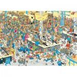 Puzzle  Jumbo-17467 Van Haasteren Jan : Faites la Queue !