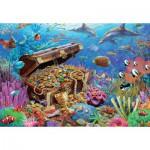 Puzzle  Jumbo-18342 Trésor Sous-marin