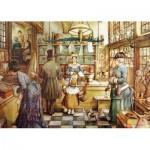 Puzzle  Jumbo-18514 Pièces XXL - Anton Pieck - La Boulangerie