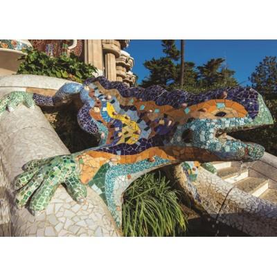 Puzzle Jumbo-18540 Parc Güell, Barcelone