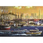 Puzzle  Jumbo-18552 Port de San Francisco, Etats-Unis