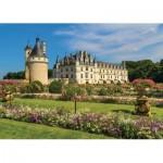 Puzzle  Jumbo-18555 Château de la Loire, France