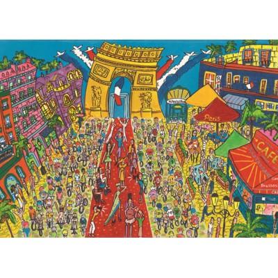 Puzzle Jumbo-18564 Arc de Triomphe, Paris