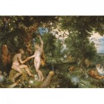 Puzzle  Jumbo-18591 Rubens Peter Paul - Le Jardin d'Eden