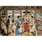 Puzzle  Jumbo-18599 Pièces XXL - Anton Pieck - L'Epicier