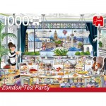 Puzzle  Jumbo-18808 London Tea Party