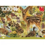 Puzzle  Jumbo-18819 Young Wildlife