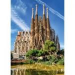 Puzzle  Jumbo-18835 Sagrada Familia, Barcelone