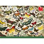 Puzzle  Jumbo-18842 Butterfly Poster