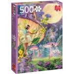 Puzzle  Jumbo-18846 Dans des Elfes au Crépuscule