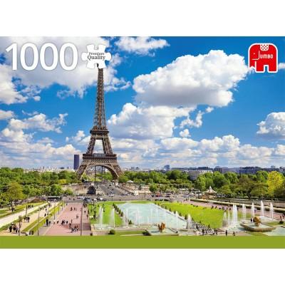Puzzle Jumbo-18847 Tour Eiffel en été