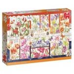 Puzzle  Jumbo-18852 Tulipes de Hollande