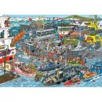 Puzzle  Jumbo-19012 Jan van Haasteren - Chargement de la Mer