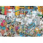 Puzzle  Jumbo-19025 Jan Van Haasteren - Fabrique de Bonbons