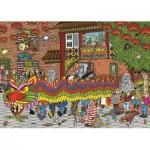 Puzzle  Jumbo-19031 Jan Van Haasteren - Nouvel An Chinois