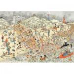 Puzzle  Jumbo-19040 Jan Van Haasteren - Bain du Nouvel An