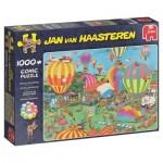 Puzzle  Jumbo-19052 Jan van Haasteren - Le Festival de Mongolfières