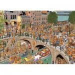 Puzzle  Jumbo-19054 Jan Van Haasteren - Le Jour du Roi