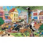 Puzzle  Jumbo-19056 Jan Van Haasteren - Attrapez-moi ce Chat !