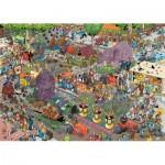 Puzzle  Jumbo-19071 Jan Van Haasteren - La Parade des Fleurs
