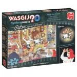 Puzzle  Jumbo-19154 Wasgij Mystery 2 - Arrêtez le Temps !