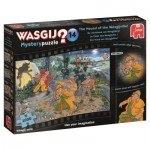 Puzzle  Jumbo-19158 Wasgij Mystery 14 - Le Chien des Wasgijville