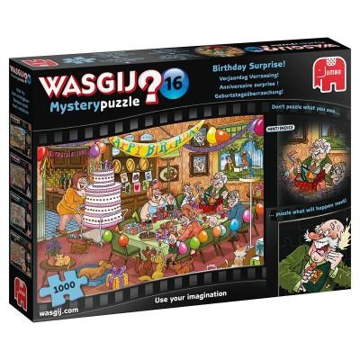 Puzzle Jumbo-19165 Wasgij Mystery 16 - Anniversaire Surprise !