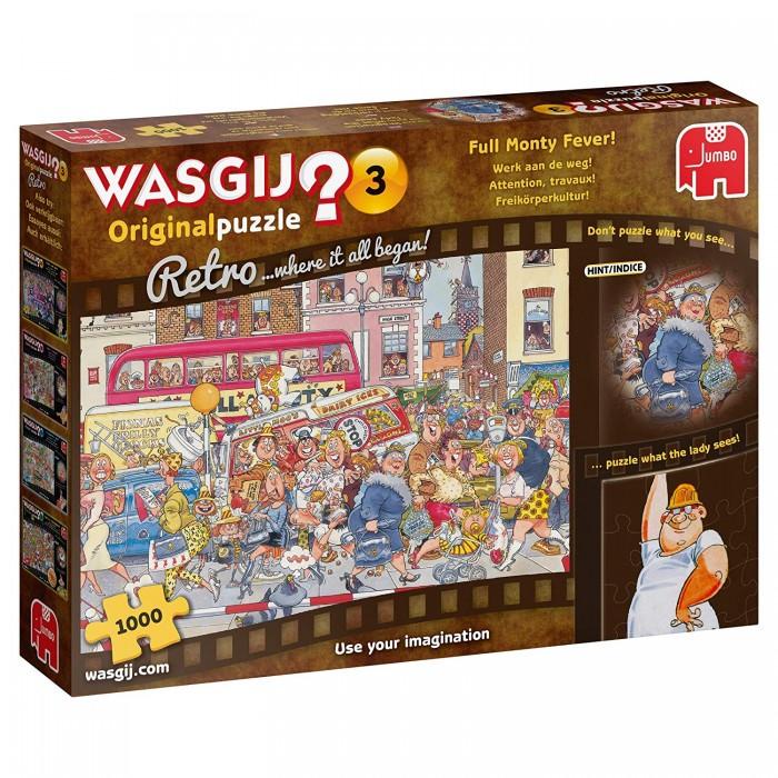 Wasgij Original Retro 3 - Attention, Travaux !