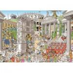 Puzzle  Jumbo-19203 Rob Derks - Les Romains